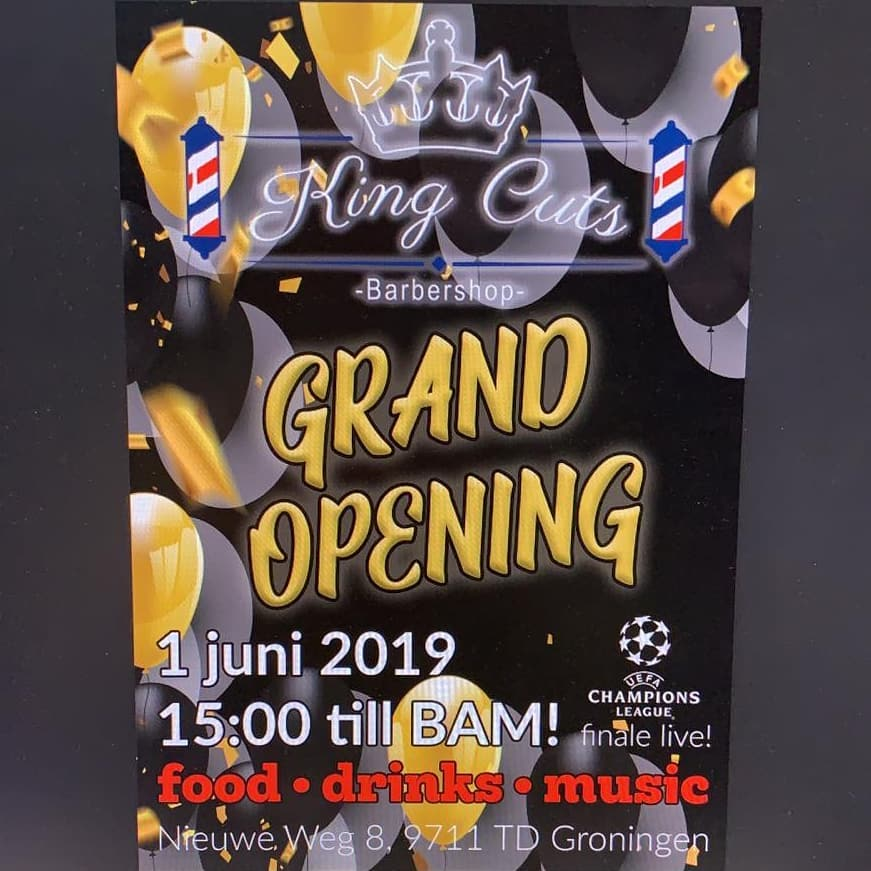 Grand Opening King Cuts